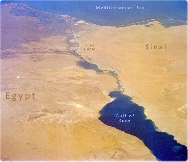 Egypt map africa cairo nile river and suez canal suez canal africa gumiabroncs Image collections
