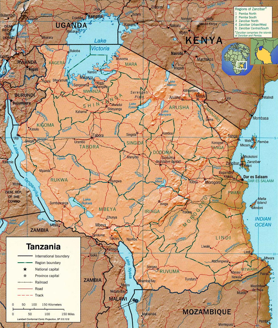 Map Of Africa Lake Victoria.Tourist Guide Tanzania Map Lake Victoria Travel Africa
