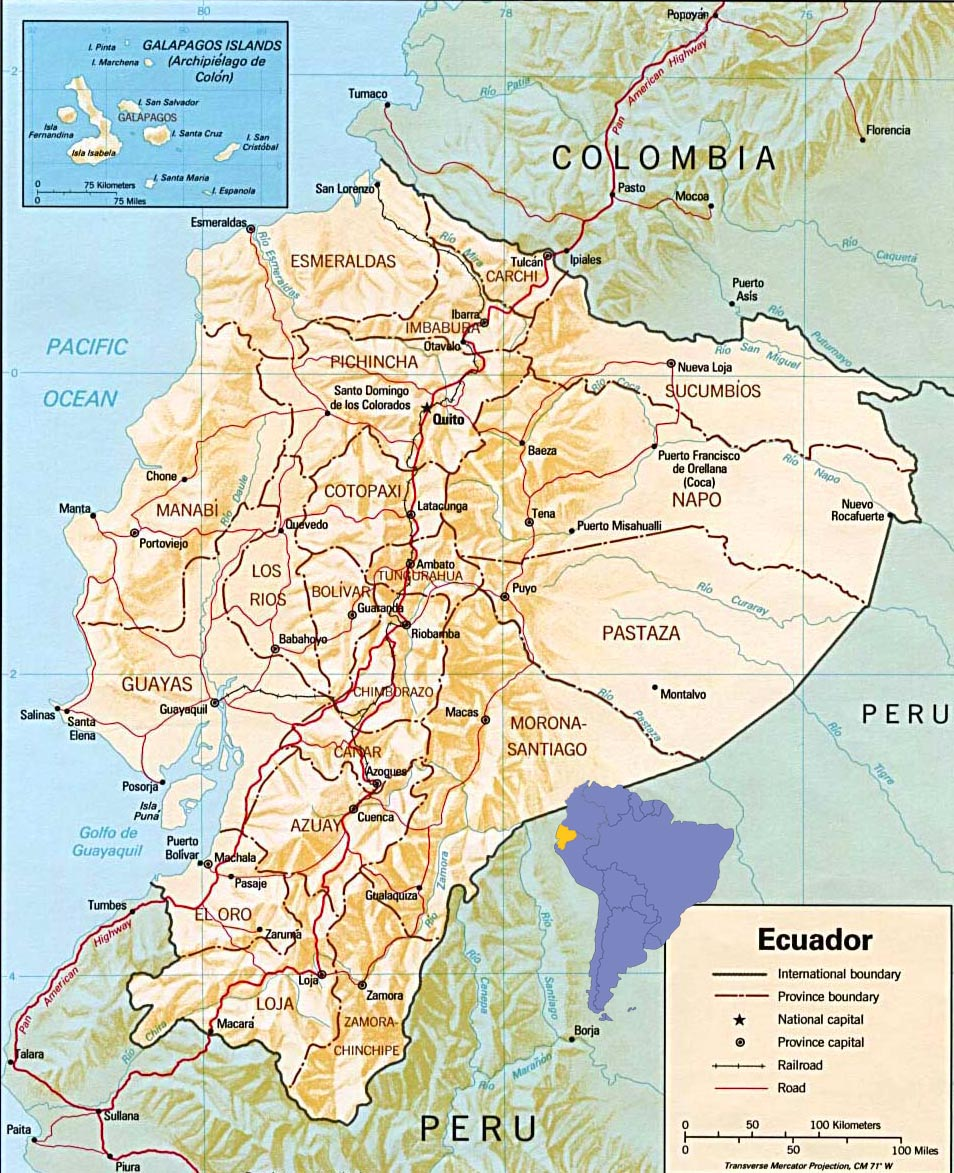 Ecuador on the Map