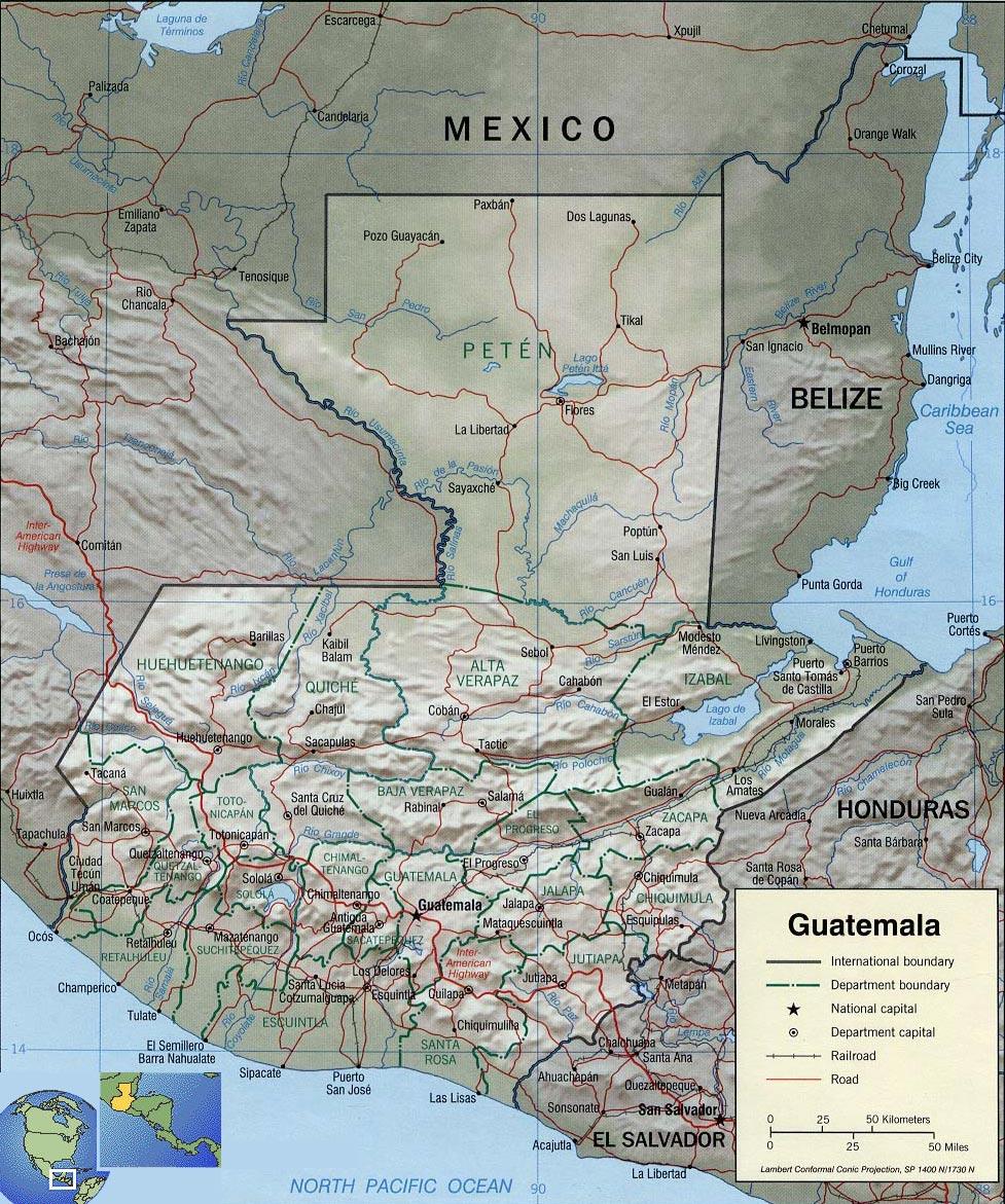 gobierno geografia:
