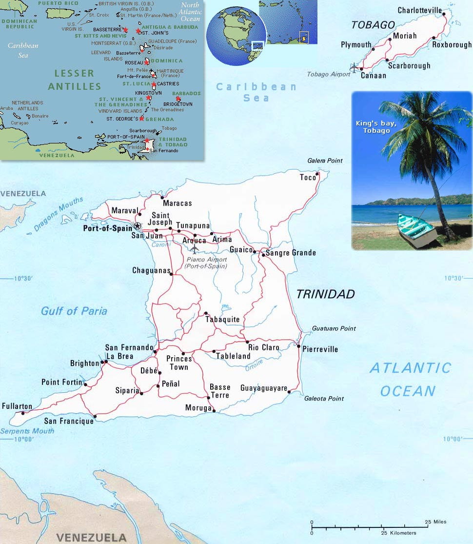 Picture of: Maps World Map Trinidad